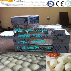 Full Automatic Steamed Bun Forming Machine Square Steameds Bun Making Machine Bread Bun Machine