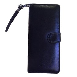 Wallet Pattern 5 Inch Universal Flip Leather Case for Mobile Phones with Card Slots