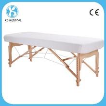 Pe y PP no tejido desechable de plástico cubierta de colchón