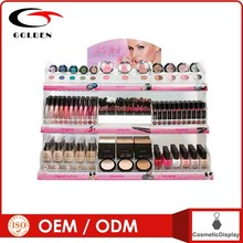 OEM Cosmetic store display furnitures for cosmetic display