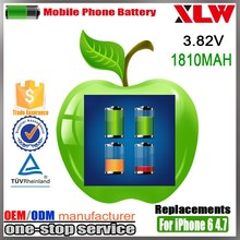 original battery for iphone 6, for 4.7 apple iphone 6 battery, for iphone 6 battery replacements