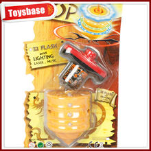 Music colors light spin top toy