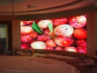 Curve indoor LED Display Video Wall