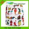 Wholesale China Printed Cloth Diapers One Size Sleepy Baby Diapers