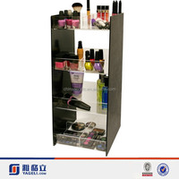 Yageli fashion acrylic make up display shelf/acrylic makeup counter