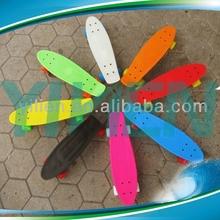 customized mini cruiser skate board,plastic original board,complete nickel longboards