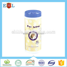 New style Zhejiang Oem pet wet tissue