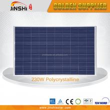 high efficiency BIPV modules230w 30v 60pcs polycrystalline solar cell panel