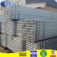 40x40mm Carbon steel hot dipped galvanized square pipe