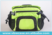 high quality fashion and cute camera bag with both waist belt and shoulder strap