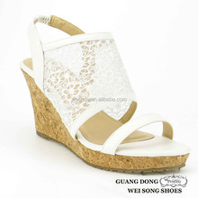 latest summer lady wedge heels girls latest hot sexy lace wedge high heel women sandals 2015