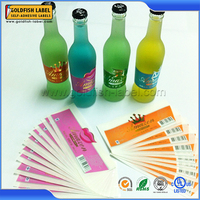 Adhesive Laminated Paper Label for Glass Bottle