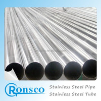 Factory direct sales 304 cheap food grade stainless steel pipe price list