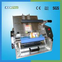 KENO-L117 semi automatic label machine label for frozen food