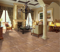 Non-Slip Living Room Kitchen Bathroom Rustic Tile
