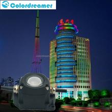 dynamice white color Matrix waterproof RGB DMX pixel / dmx dot/LED point light