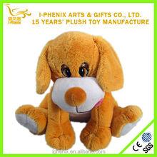 Popular with children stuffed plush dog toy cute big eyes stuffed plush dog toy for children