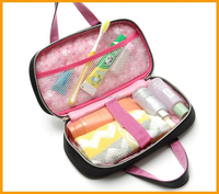 Ultra thick solid hand toiletry bag cute Korean style makeup bag