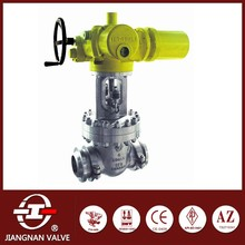 Stainless Steel Gate Valve Electric Actuator Butt Weld