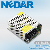 12V Constant voltage indoor LED power supply with CE CCC ROHS EMC LVD approved 40W/40W 50W 60W 80W 100W 200W 300W