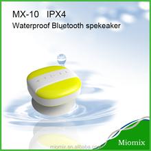 Mini rotating bluetooth speaker water resistant speaker