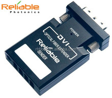 AV to RF converter Reliable Photonics 4-channel video dvi fiber optic extender