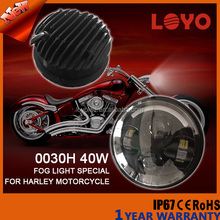Hottest motorcycle cheap 5.6inch round led headlight for harley
