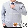 2015 caliente de la venta de primavera v- cuello de estilo casual llano barato suéter de los hombres
