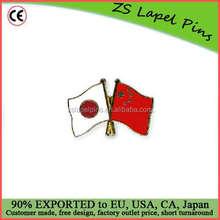 Free artwork fee custom quality Japan China fag lapel pin