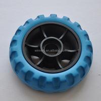 small plastic toy wheel 4 inch eva wheel