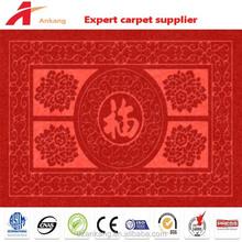 High quality unique ribbed surface pvc exhibition carpet