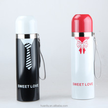 "2015 wedding party day gifts ""Mr. & Mrs.""wedding stainless steel water bottle and thermos vacuum"