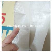 white kraft paper woven sacks for glass beads