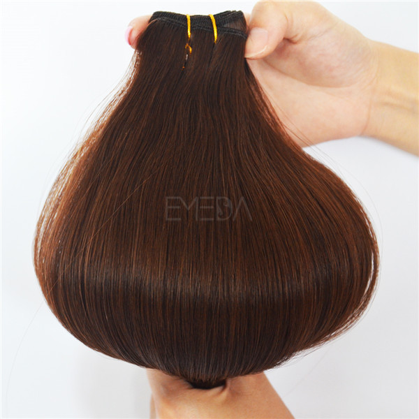 Beauty Works Chocolate Brown Colored Brazilian Hair Weave Extensions