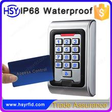 Metal Keypad Standalone RFID 125khz Door Access Controllers