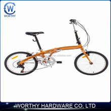 """16"""" one-second folding bike with super light weight"""