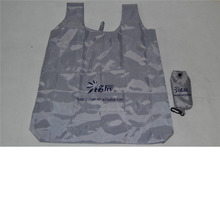 Silver Folding Promotion Tote Bag