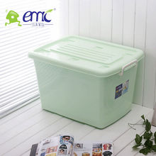 Plastic household containing boxs with wheel