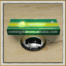 optical fiber led magnetic floating display,acrylic magnetic levitating display