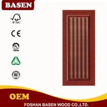 best quality wooden fire proof door decorative design painting finish