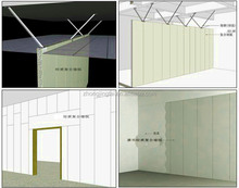 basement ceiling insulation/composite sandwich panels/insulated panels price