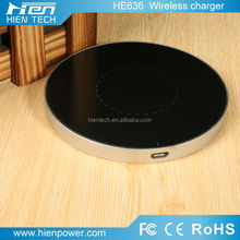 Promotion wireless keyboard and case charger for ipad 2 QI standard powermat 5V1A wireless charger pad