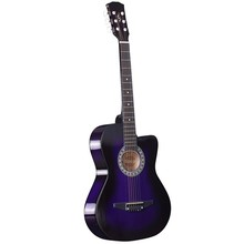 38'' hot selling no brand acoustic guitar