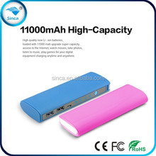 hot selling portable power bank 11000mah fit for mobile phone