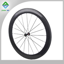 china supplier 10% off road bike bicycle part chinese carbon wheels 700c fixed gear bike wheel 60mm with NOVATEC hub