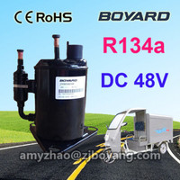 tricycle mobile freezer DC compressor for portable refrigerated electrical three wheel tricycle chiller
