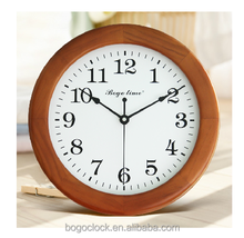 Hi-end New Euro Wall clock Antique wood home decor vintage style