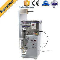 2015 New Design small tea bag packing machine with string tag and outer bag In European