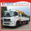 High srength Dongfeng 8x4 truck mounted crane 16 ton truck crane sales