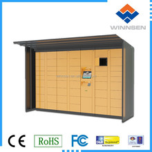 Different combination for electronic logistics cabinet